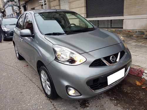 a nissan march 2015 extra full solo 80 mil km regalo hoy pto