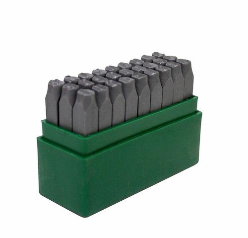 abecedario - letras de golpe para marcar 6mm changlu