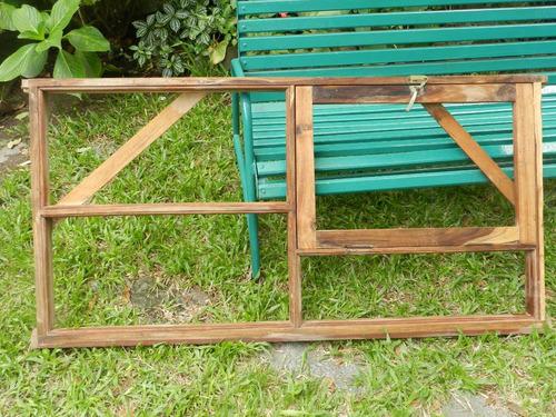 abertura - ventana de madera dura con banderola