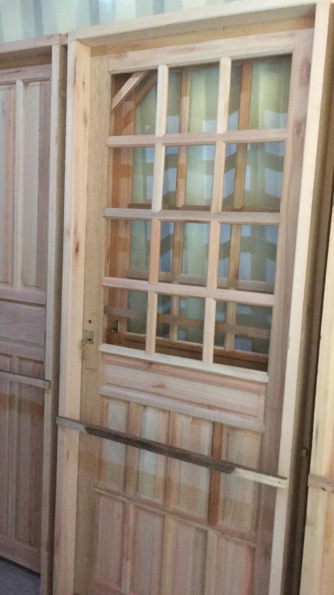 Aberturas Puertas De Cocina Exterior En Eucaliptus - $ 111 ...