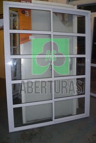 aberturas: ventana alum