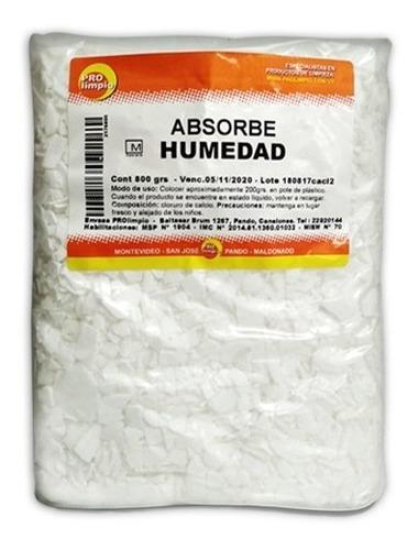 absorbe humedad escamas de cloruro de calcio 800gr