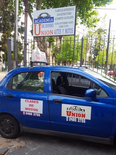 academia de choferes union
