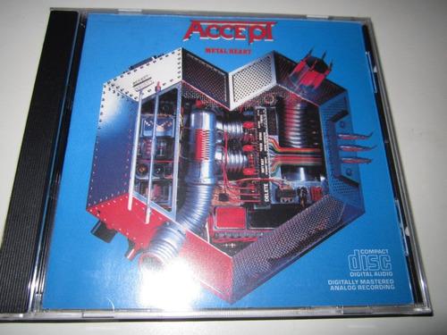 accept - metal heart cd (importado)