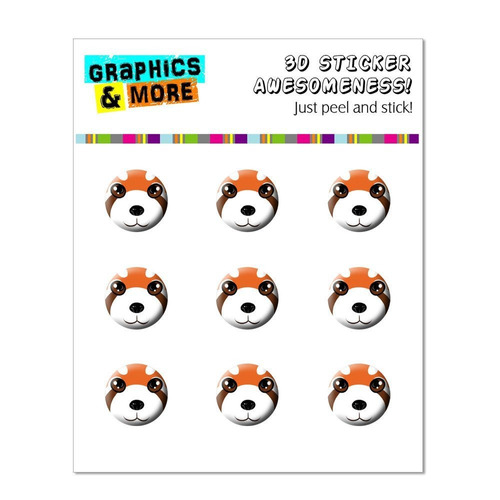 accesorio auricular graphics and more red panda - zo