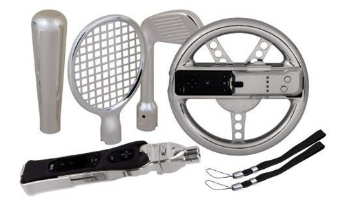 accesorio wii dreamgear nintendo wii 7-in-1 players