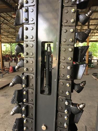 accesorio zanjeador trencher para minicargadora
