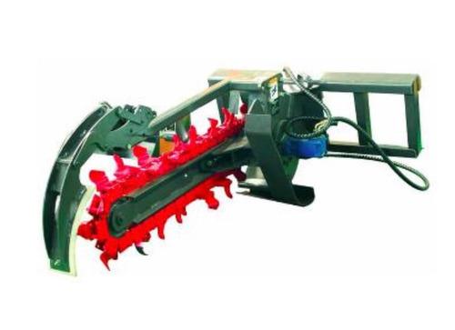 accesorio zanjeadora / trencher para minicargadora