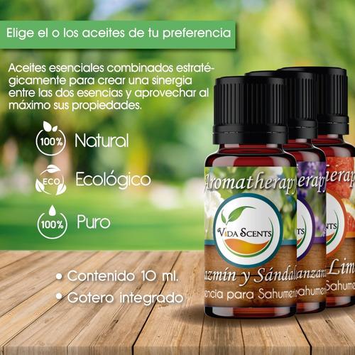 aceite esencial aromaterapia
