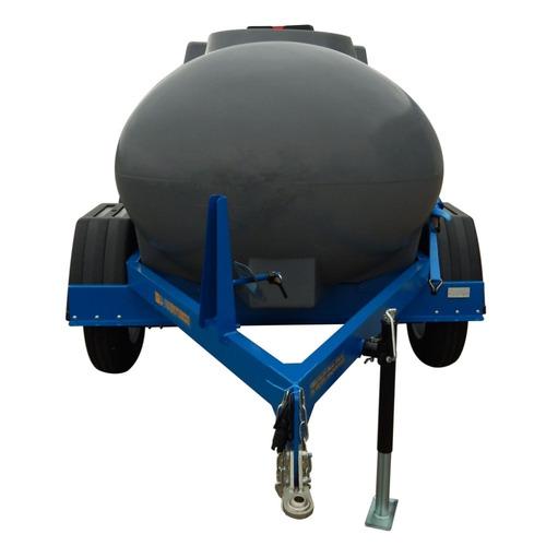 acoplado cisterna tanque plástico agua 3400 lts j. hartwich