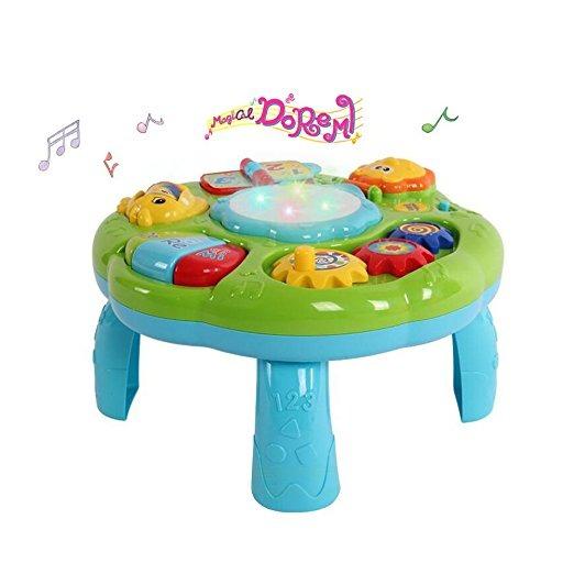 Marvelous Actividad Musical Mesa Juguetes Para Bebés   Niños Pequeños