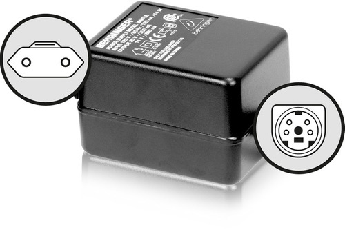 adaptador corriente behringer psu8-para v-amp - lx1b - dfx6