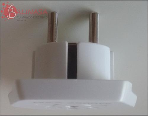 adaptador derivador universal autorizado conatel schuko
