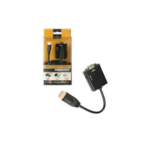adaptador hdmi m/ vga h c/audio generico