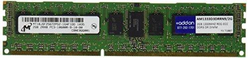 addon memory 2 gb ddr3 1333 (pc3 10600) ram
