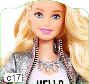 adesivo cabeceira cama infantil barbie 2017