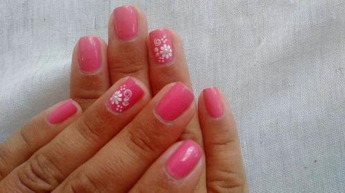 adhesivos artesanales miss leidy adhesivos de uñas x30un.