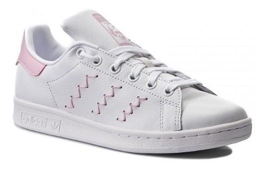 adidas Calzado Moda Dama Stan Smith Blancorosa