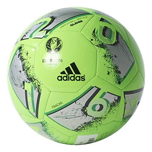 53482db768579 adidas Performance Euro 16 Glider Balón Fútbol Talla 4 -   2.671