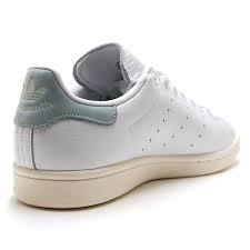 adidas stan smith blanco con gris en talón
