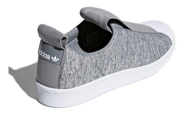 quality design 8e6fb ea30a adidas Superstar Slip On Bw3s Gris Jasp Originals X Pedido