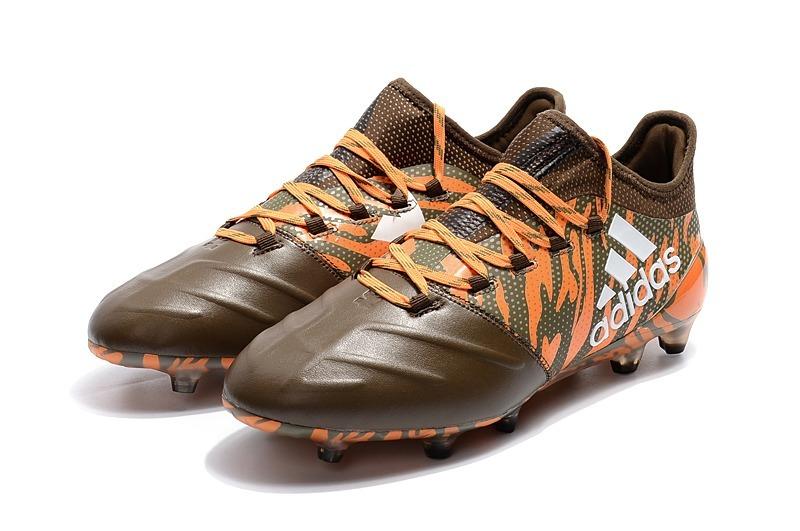 sports shoes d0150 824be ... adidas X 17.1 Leather Fg (marronnaranja) - 4.200,00 en Merc reputable  site ...