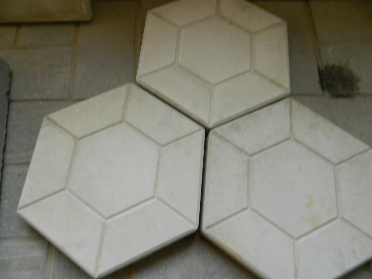 Adoquin hexagonal de hormigon 90 00 en mercado libre for Cuanto cuesta el metro de hormigon