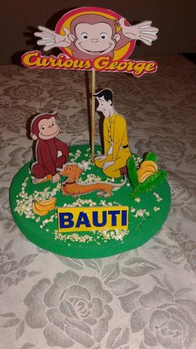 adorno para torta o centro de mesa en goma eva