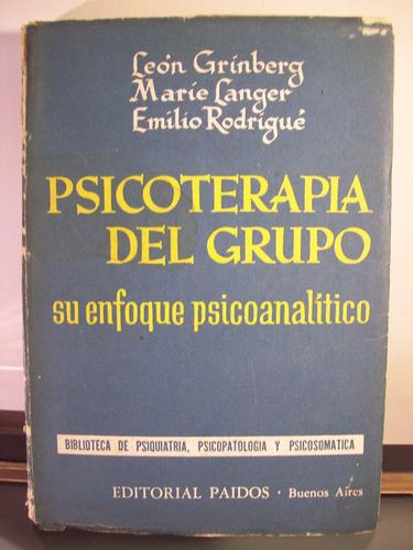 adp psicologia del grupo grinberg langer rodrigue / paidos