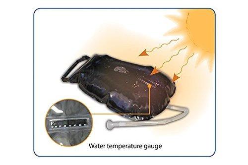 Advanced Elements camping ducha ducha de verano ducha solar 2.5 galón 9 litros