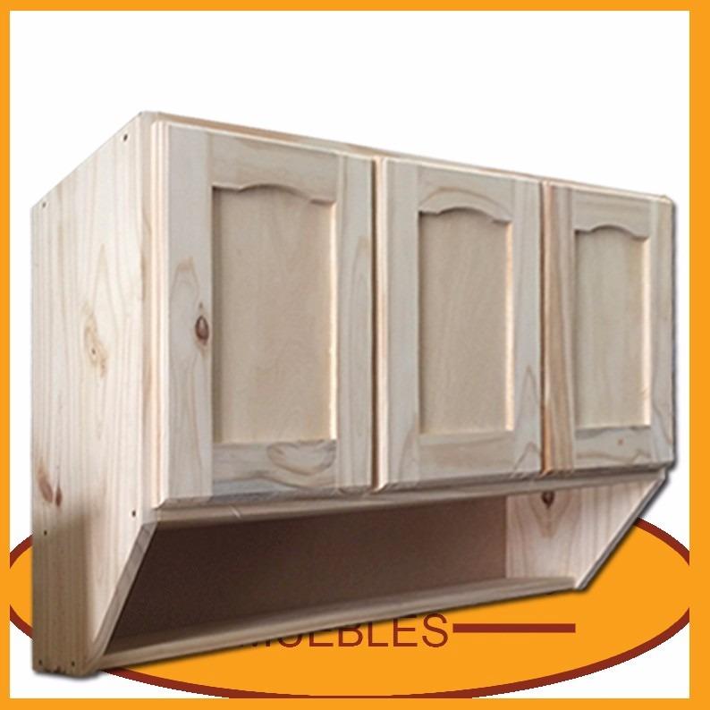 Mueble De Cocina - Aereo 3 Puertas - Alacena - Madera -lcm - $ 2.790 ...