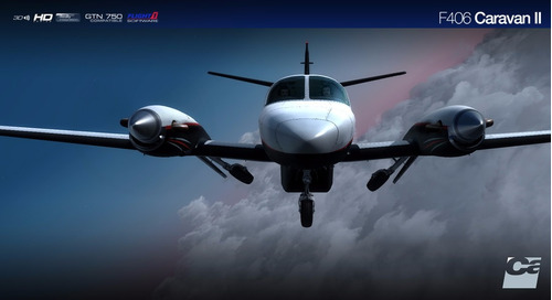 aeronave caravan para simulador de voo fsx/p3d