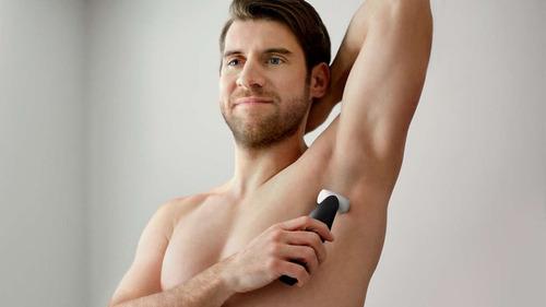 afeitadora corporal masculina philips apta ducha bg3005/15