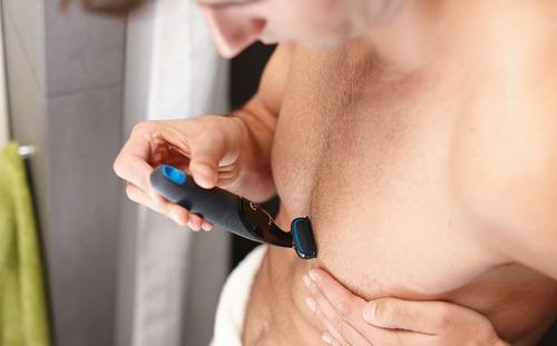 afeitadora corporal philips bodygroom bg1024/10 resist agua