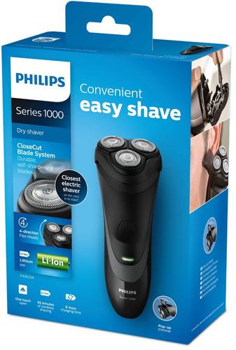 afeitadora electrica philips recargable s1520/04 patillero