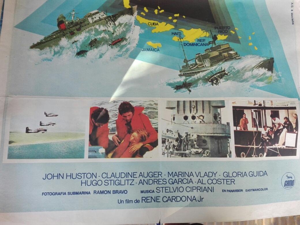 » Bermudas De Film Afiche Sobre El « Triangulo Las rBdxoeC
