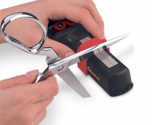 afilador chef´s choice diamantado p/cuchillos y tijeras -usa