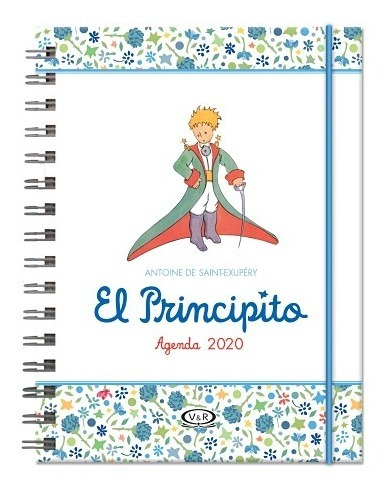 agenda 2020 el principito (blanca) - saint-exupery, antoine