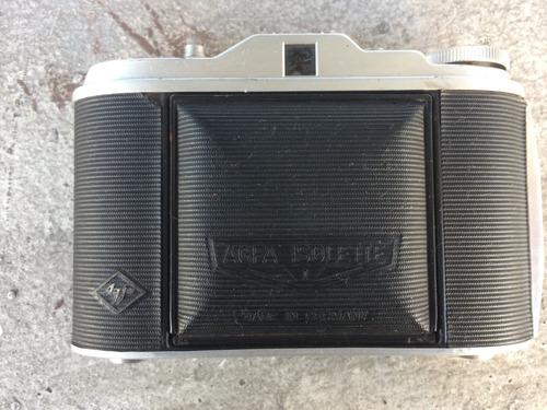 agfa isolette, cámara antigua, made in germany