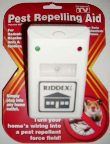 ahuyentador ultrasonido ratas cucarachas mosquitos y arañas