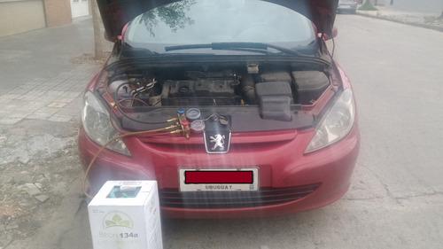 aire acondicionado automotriz (r134a, r12 y r1234)