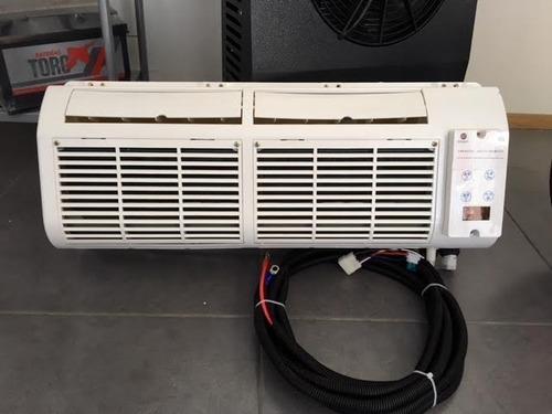 aire acondicionado eléctrico 24 y 12 camiones y camionetas