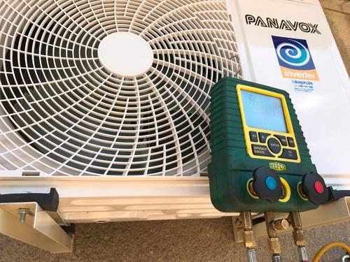 aire acondicionado, instalación , reparación y carga de gas