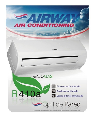 aire acondicionado panavox / airway 18000 btu