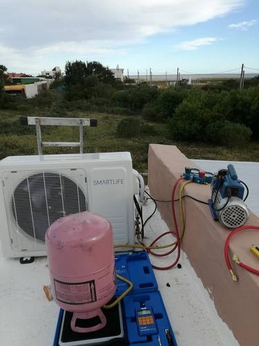 aire acondicionado servicio con