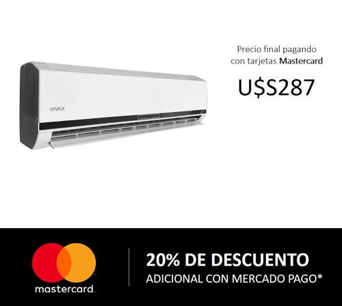 aire acondicionado vivax 18000 btu frio/calor split - ltc