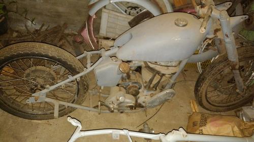 ajs 500 de 1948.moto inglesa antigua