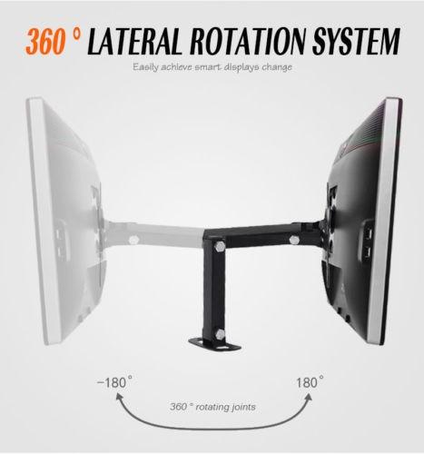 ajustes de pared montado plana pantalla tv soporte monta sop