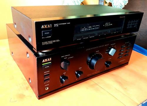 akai amplificador y tuner exelente estado gran potencia