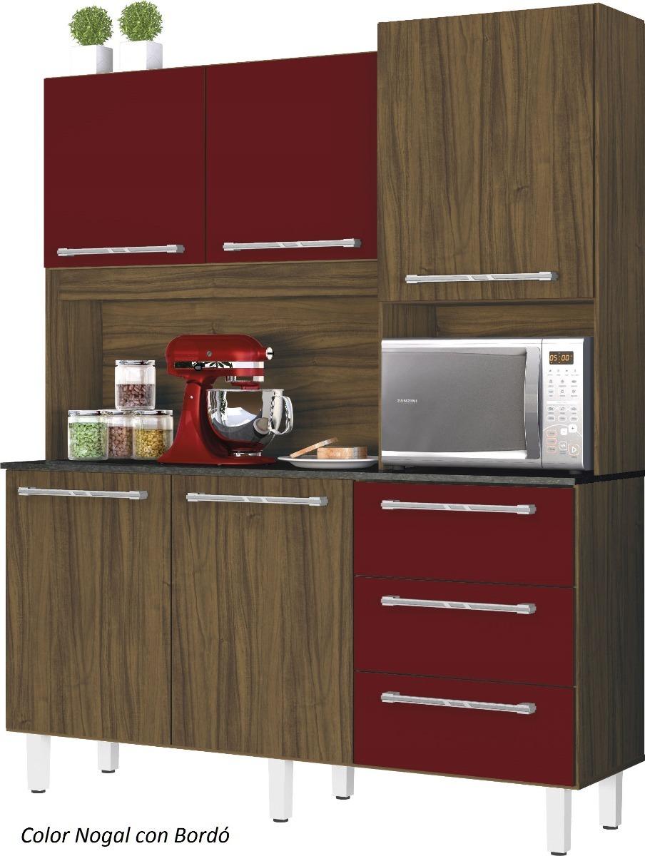 Alacena - Armario - Aparador - Mueble De Cocina 157 Cm Largo ...